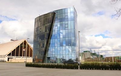 Vienas iš KLAIPĖDOS STATYBOS projektų - Genrangovo vidaus darbai Birių krovinių terminalo administraciniame pastate